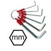 Immagine per la categoria Assortimenti chiavi maschio esagonale con anello